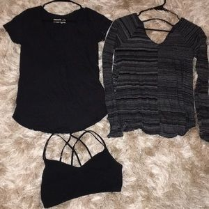 Abercrombie and Fitch Top Bundle